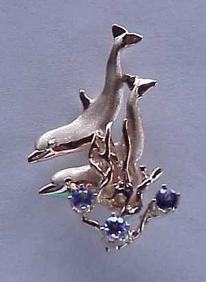 Dolphin Jewelry - A Jumping Dolphin
