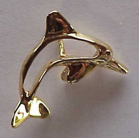 Dolphin jewelry design ideas - golden dolphin jewelry